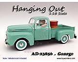 23856 American Diorama Figurine 1jd9b3l4896 - Hanging 7hg7zpraboq Out George Figure (1/18 Scale, White) 23856 diecast car Model 23856American Diorama Figurine - 1:18 Scale H