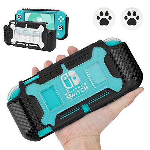 Capa KIWIHOME Grip para Nintendo Switch Lite, Preto