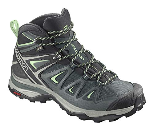 SALOMON Shoes X Ultra, Botas de Senderismo Mujer, Verde (Green Gables/Balsam Green/Patina...