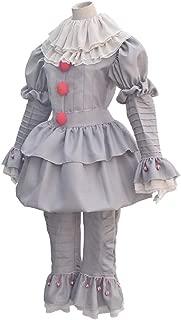 2018 Halloween Costume Movie Cosplay Costume Scary Joker Clown