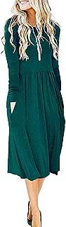 Best midi dress long sleeve Reviews