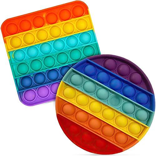 Zuvo 2 Pack Pop It Fidget Toy Bu...