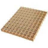 100PCS Electronic Component Parts Case Patch Laboratory Storage Box SMT SMD - Yellow