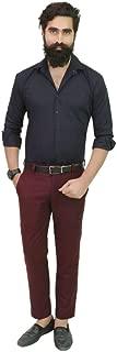 Gurus Fashion Black Pure Cotton Slim Fit Formal | Casual Shirts for Men | Shirts for Men | Men's Shirts