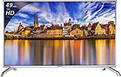 Panasonic 124.5 cm (49 Inches) Full HD LED TV TH-49E460D (Black) (2017 model)
