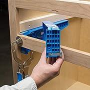 Kreg 906556 Schubladenauszugsführung, blue