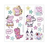 Dekora-231344 Adornos Comestibles de Peppa Pig para Cupcakes, Muffins, Bizcochos o Tartas Infantiles, color rosa (231344)