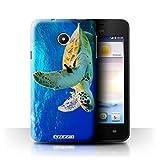 Hülle Für Huawei Ascend Y330 Wilde Tiere Schildkröte