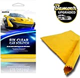GEVO Scratch Repair Cloth, Upgraded Version Nano Magic Cloth for car Scratches, Repair Minor Scratches on The Surface, Nano Cloth and Strong Decontamin(1Pack)