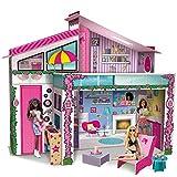 Lisciani Giochi 76932 - Barbie Casa de Malibù con Doll