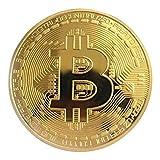 Formulaone Goldene / Silberne Bitcoin Münze Bronze physische Bitcoins Münze Sammlerstück BTC Münze - goldene (Golden) -