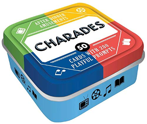 After Dinner Amusements: Charades: 50 Cards with 200 Playful Prompts