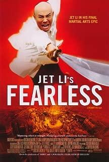Best jet li fearless poster Reviews