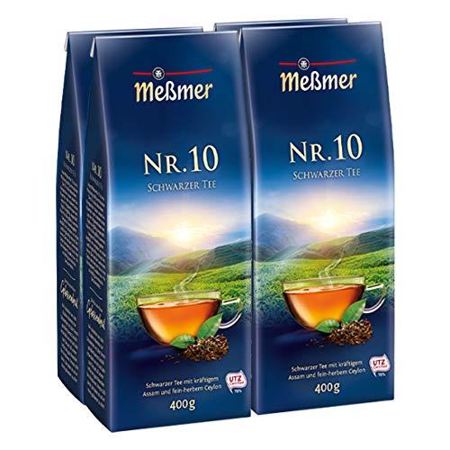 Meßmer Schwarzer Tee NR. 10 400g 4er Pack