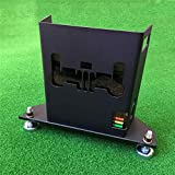 COOLESTT Metal Protective Case Box for Skytrak Golf Launch Monitor - Matte Black
