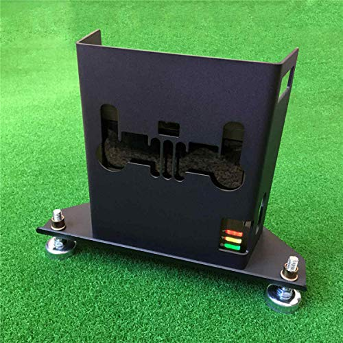 COOLESTT Metal Protective Case Box for Skytrak Golf Launch Monitor - Matte Black