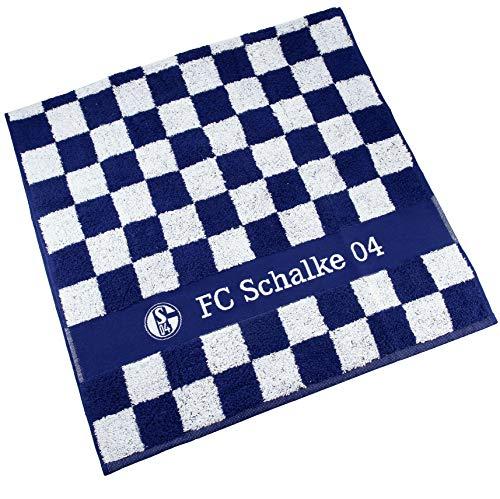 FC Schalke 04 Handtuch Karo 100 x 50 cm