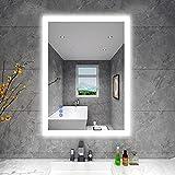 BBE 900 x 700 mm LED espejo de bao con luz regulable antivaho montaje en...
