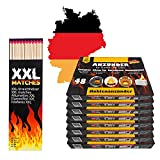 336x Anzündwürfel Kaminanzünder inkl 40 XXL Streichhölzer lang | Grillanzünder Made in Germany...