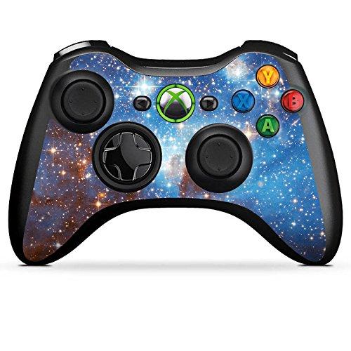 DeinDesign Skin kompatibel mit Microsoft Xbox 360 Controller Folie Sticker Galaxie Weltall Sterne