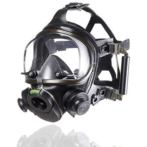 Dräger Panorama Nova Dive Sport Full-Face Diving Mask, Coldwater Scuba Diving mask for Adult & for Comfortable face mask Breathing