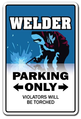 SignMission Welder Novelty Sign