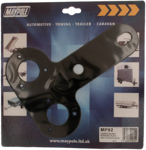Maypole MP092 092 Double Socket Mounting Plate