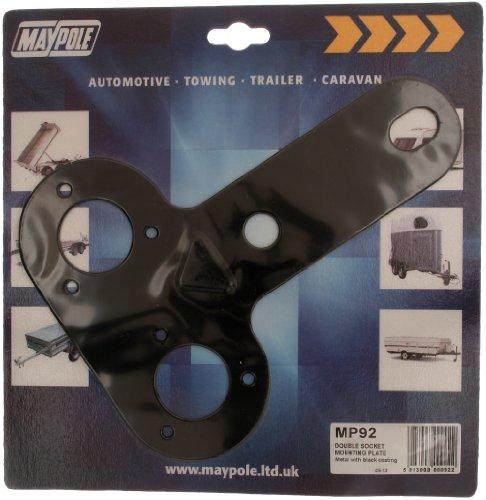 Maypole 092 Double Socket Plaque de Montage
