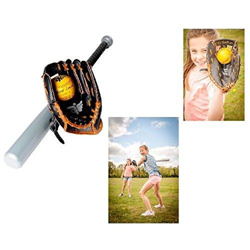 Engelhart 080025 - Baseballsatz, 3-teilig