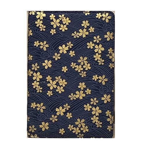 LOVELY Cuaderno portátil Cuaderno de Papel Grueso Vintage Cuadernos de Negocios Bloc de Notas Biblia Diario Libro Revistas Agenda Oficina Escolar Portátil Duradero (Color : F)