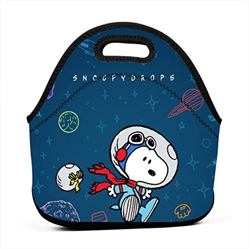 LIUYAN Custom Insulated Lunch Bag Snoopy Drops School Lunch Box for Boys Girls Kids Adults