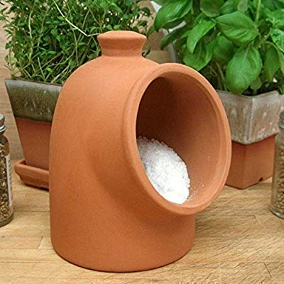 Terracotta Salt Pig from Weston Mill Pottery