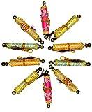 KRIWIN Pack of 10 Ethnic Scroll Style Shagun Envelope Sagan Gift Envelopes