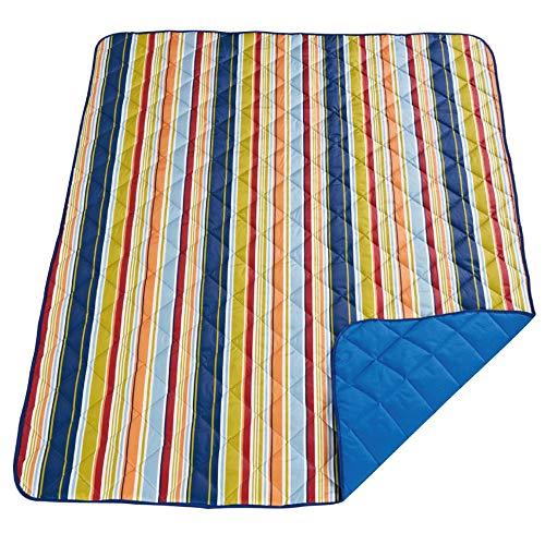 GSYYSZD Komfortable Picknickmatte feuchtigkeitsbeständige Outdoor-Verdickung Gesteppte Falten tragbares Zelt wasserdichte Matte kann in der Maschine gewaschen Werden