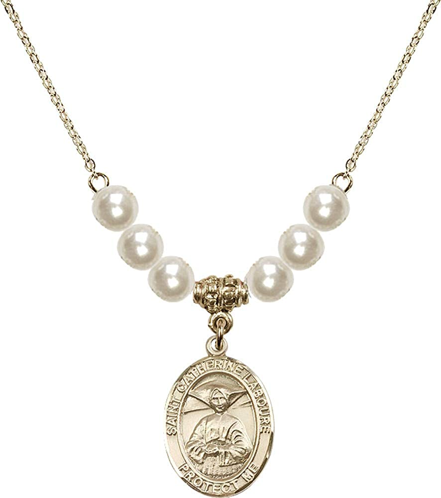 Bonyak Virginia Beach Mall Jewelry 18 Inch Max 44% OFF Hamilton Gold 6mm w Necklace Plated Faux