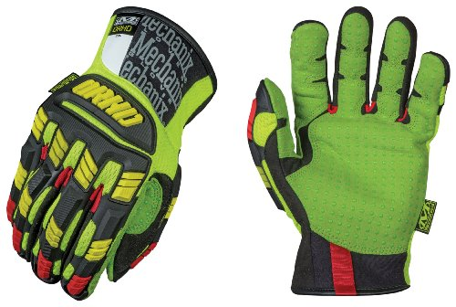Mechanix Wear Hommes The Safety M-Pact ORHD Gants Jaune/Rouge taille XXL