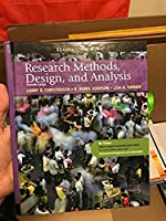 Research Methods, Design, and Analysis - Eleventh Edition, Examination Copy 0205808581 Book Cover