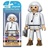 Back to the Future Dr. Emmett Brown Playmobil Action Figura