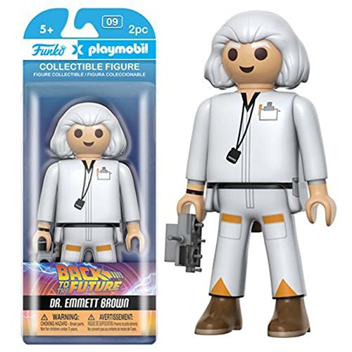 Back to the Future Dr. Emmett Brown Playmobil Action-Figur