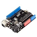 RobotDyn - Classic UNO R3 ATmega328P Development Board Compatible with UNO R3 for Beginner, Education and Starter DIY Projects.