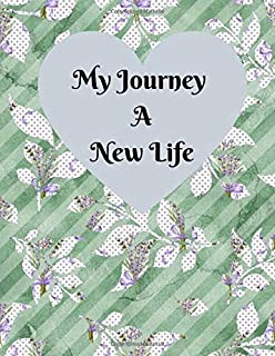 My Journey A New Life: A Pregnancy Journal Planner to track your 9 Month Journey and Enjoy the Miracle of Life