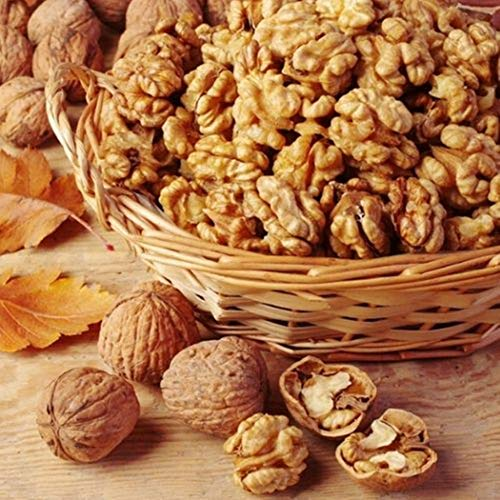 Sainik's Dry Fruit Mall Walnuts Without Shell | Walnut Kernels | Kashmiri Walnuts | akhrot Giri | Akrot Magaz 500 Grams