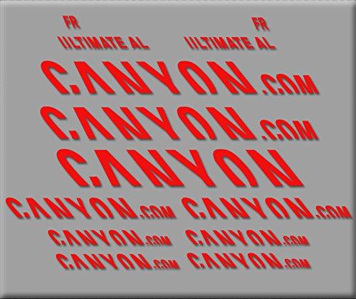 bester Test von canyon e bike Öko-Shirt L3-MF47-2UD4 Canyon Ultimate R291 Aufkleber Vinyl Adeshibi Aufkleber Aufkleber… // MTB…