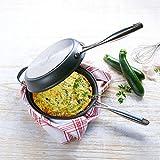 Wendepfanne für beidseitig perfekte Omeletts