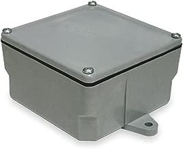 Electrical Box, PVC, 6-3/4X6-3/4X4-1/8 in.