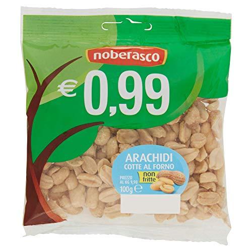 Noberasco 0,99 Arachidi Salate - confezione da 12 pezzi da 100g