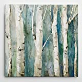 WEXFORD HOME River Birch II' Wrapped Canvas Art Print, 40x40