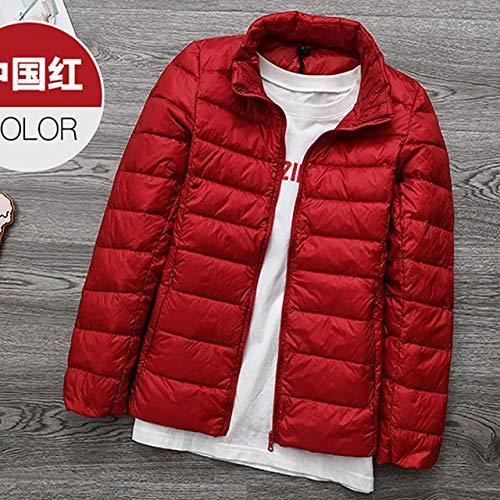YRFHQB Zimowa jakość marka damska 90% puchowa kurtka damska ultralekka kurtka puchowa wiosenny płaszcz damski parka płaszcze XXL czerwona