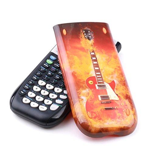 Guerrilla Hard Slide Case-Cover for TI-84 Plus, TI 84-Plus C Silver Edition, TI-89 Titanium Graphing Calculator, Guitar
