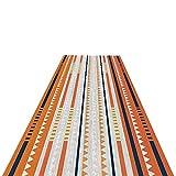 alfombra de Pasillo Moderno Geométrico Corredor de la Alfombra, de Pelo Corto y Antideslizante Pasillo Alfombras de Área/Felpudo de Entrada, Fácil de Limpiar